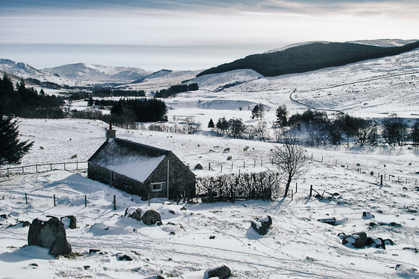 Winter at Dalmunzie