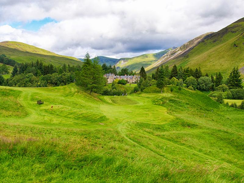 Dalmunzie golf course design